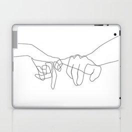 Pinky Swear Laptop & iPad Skin