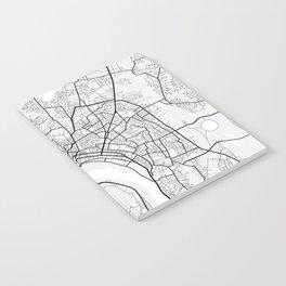 Vientiane City Map of Laos - Light Notebook