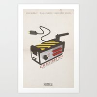 ghostbusters Art Prints featuring Ghostbusters by JAGraphic