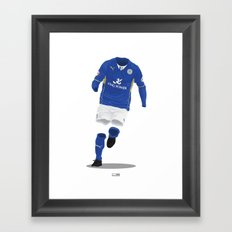 Leicester City 2013/14 - Championship Champions Framed Art Print