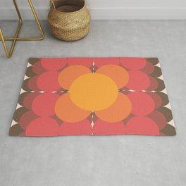 Psychedelic Floral Rug