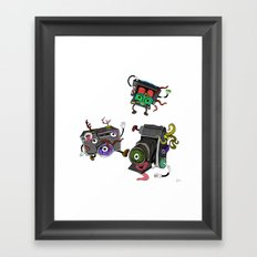 Snapshot (ANALOG zine) Framed Art Print