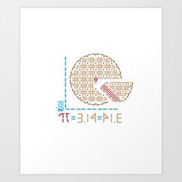 314 = PIE Art Print