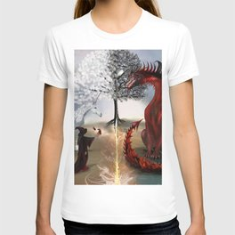 The Owl,Wizard,Unicorn and the Dragon T-shirt