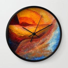 Skog and Fjell #3 Wall Clock