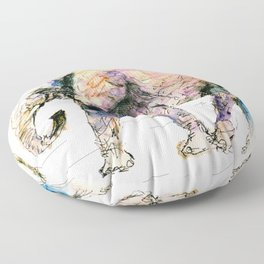 elephant queen - the whole truth Floor Pillow