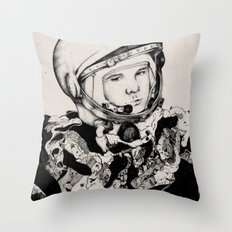 From Gagarin's Point Of View  Throw Pillow