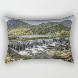 Llyn Ogwen Weir Rectangular Pillow
