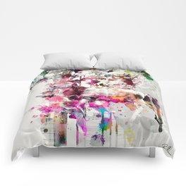 Deers and Flowers Comforters