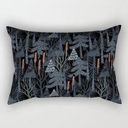 fairytale forest pattern Rectangular Pillow
