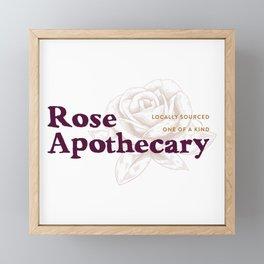 Rose Apothecary Framed Mini Art Print