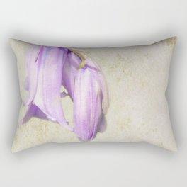 Pale Blue Rectangular Pillow