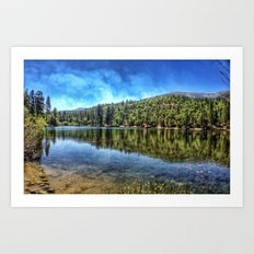 Big Bear. Art Print