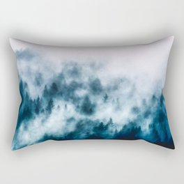 Out Of The Darkness - Nature Photography Rectangular Pillow