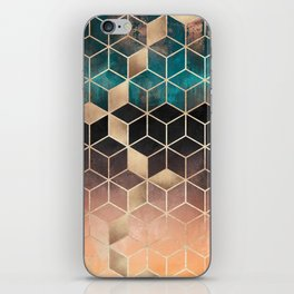 Ombre Dream Cubes iPhone Skin