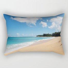 Tunnels beach Rectangular Pillow