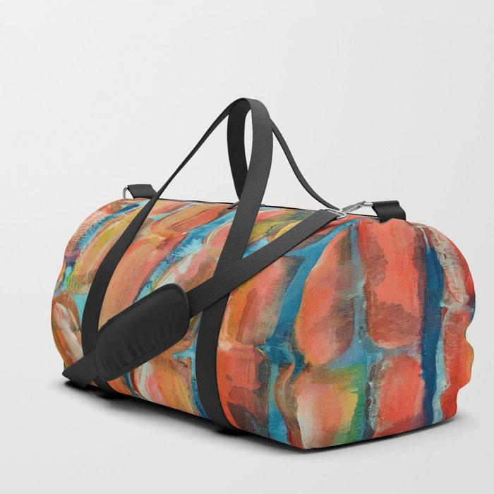 Coral Night of Sugarcane Duffle Bag