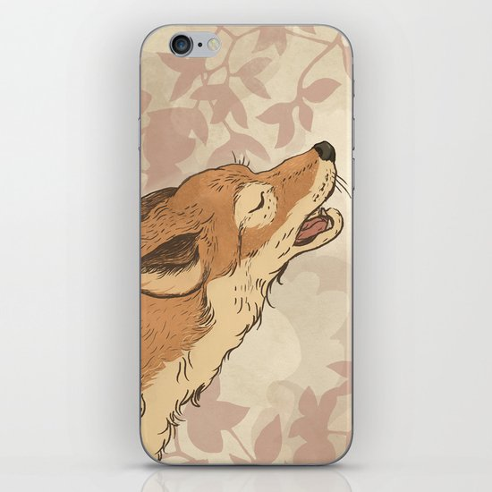 Fox and rabbit iPhone & iPod Skin