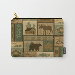 Big Bear Lodge Carry-All Pouch