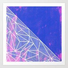 B Rays Geo Punk Art Print