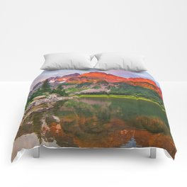Rocky Mountain Glow Comforters
