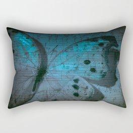 Butterfly Midnight Symphony Rectangular Pillow