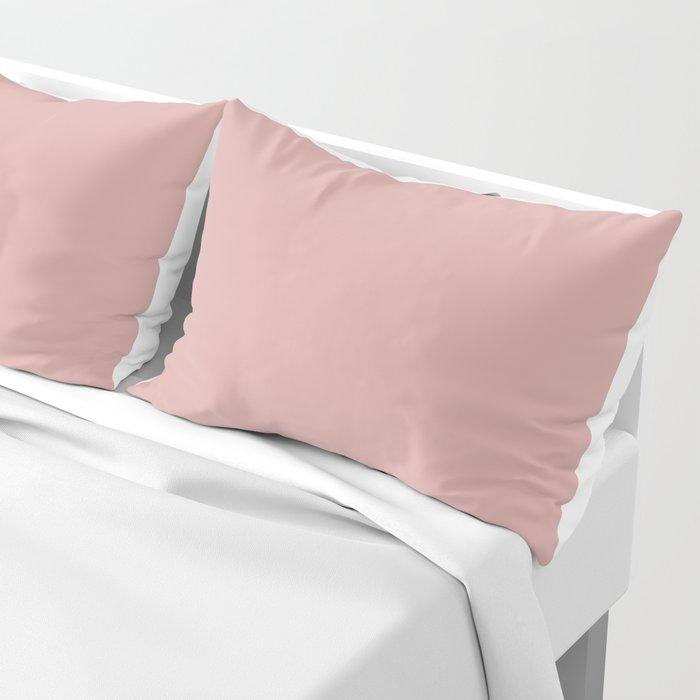 Rose Blush D9A6A1 Pillow Sham
