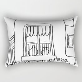 House called Venus Rectangular Pillow