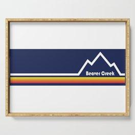 Beaver Creek, Colorado Serving Tray