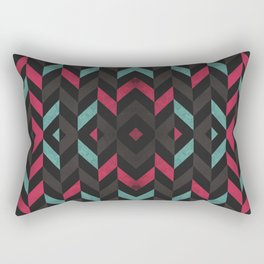 Pattern Center Rectangular Pillow