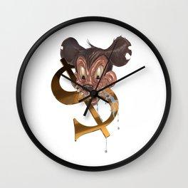 Shadow Shmoney Wall Clock