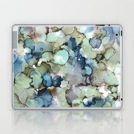 Alcohol Ink Sea Glass Laptop & iPad Skin