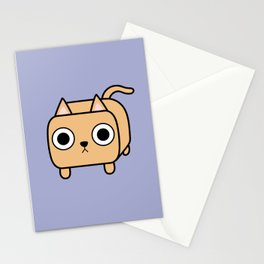 Cat Loaf - Orange Kitty Stationery Cards