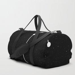 SCORPIO (BLACK & WHITE) Duffle Bag