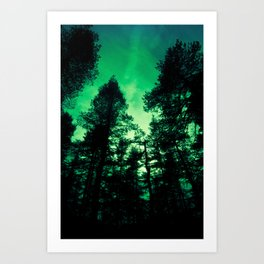 Fairy Woods Art Print