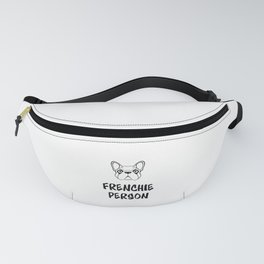 Frenchie Person Fanny Pack