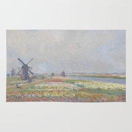 Tulip Fields near The Hague Rug
