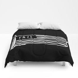 Never Fail To Fail Comforters