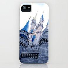 Disney Castle In Color iPhone SE Slim Case