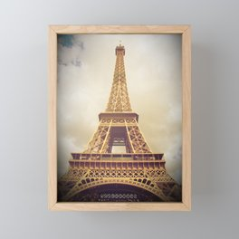 Eiffel Tower in Paris Framed Mini Art Print