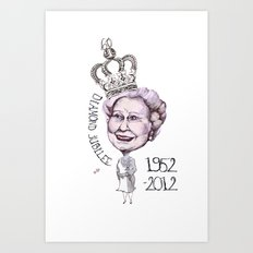 Diamond Jubilee Art Print