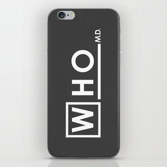 WHO MD iPhone & iPod Skin