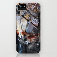 Autumn rain - watercolor iPhone (5, 5s) Slim Case