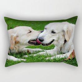 Giochi da cani Rectangular Pillow