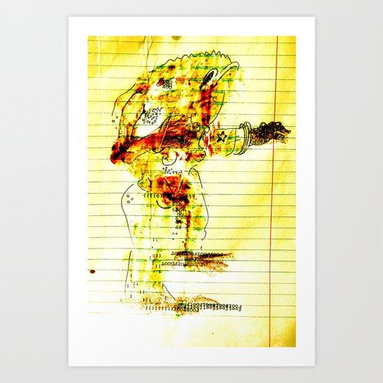 Reach-out Art Print