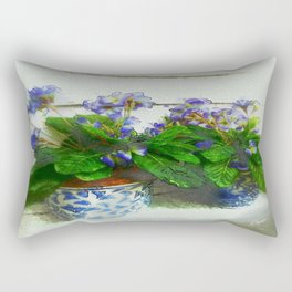 """""""Soothing Violets"""" Rectangular Pillow"""