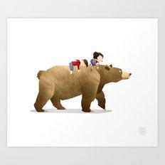 Wild Adventure - Bear Art Print
