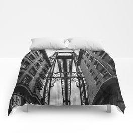 Portugalete suspension bridge Comforters