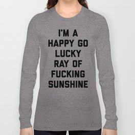 Ray Of Fucking Sunshine Funny Quote Langarmshirt