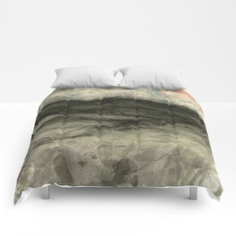 Minimalist Landscape II Comforters